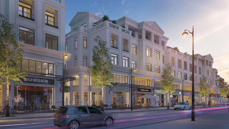Vinhomes Marina: sản phẩm Góp mặt Biệt thự, nhà liền kề và nhà phố kinh doanh
